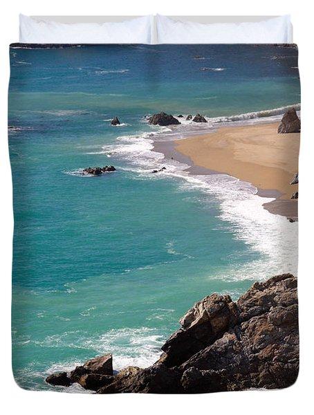 Big Sur Coast Duvet Cover by Lynn Bauer