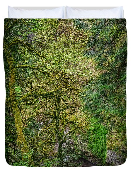 Bigfoot Country Duvet Cover by Jon Burch Photography