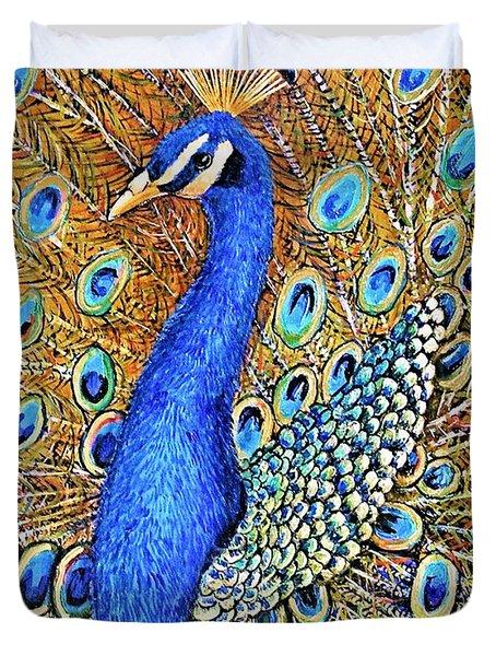 Bird Of Paradise Duvet Cover by JAXINE Cummins