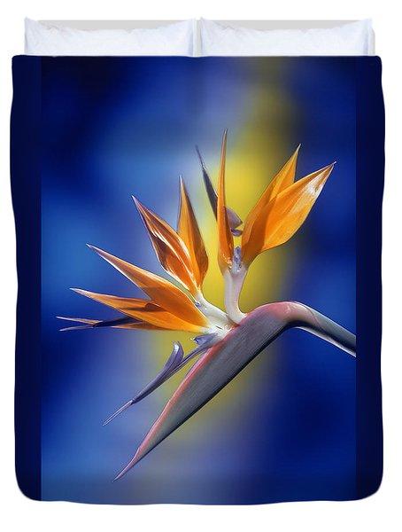 Bird Of Paradise Duvet Cover by Kirk Ellison