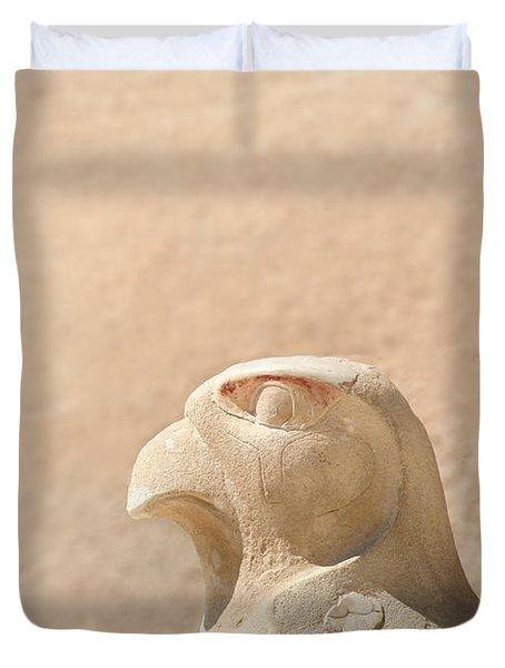 Bird of prey.. Duvet Cover by A Rey