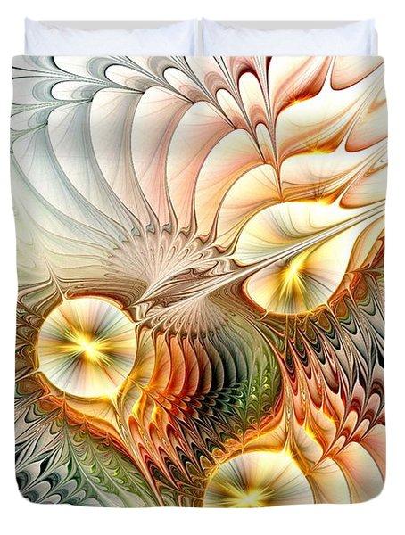 Birds Duvet Cover by Anastasiya Malakhova