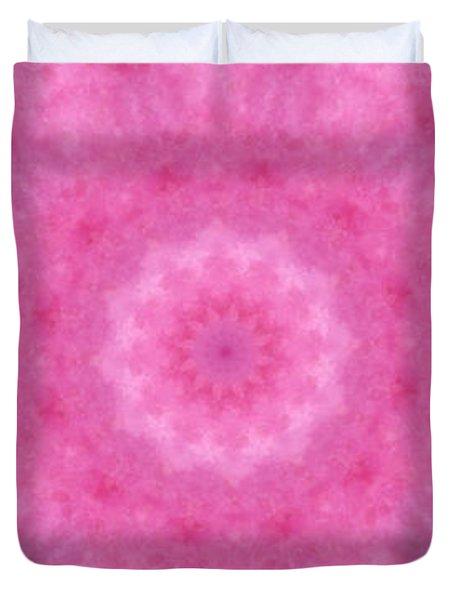 Birthing Mandala 20 Duvet Cover by Rhonda Barrett