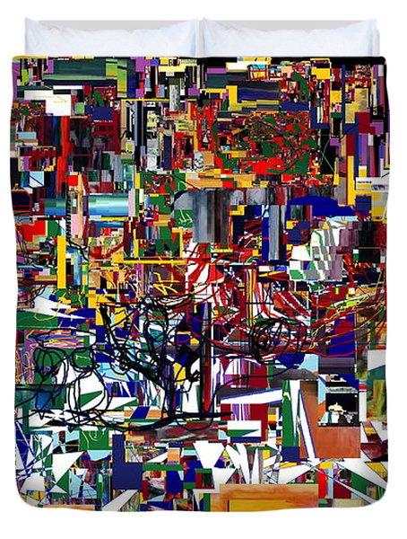 Bitachon 4  Duvet Cover by David Baruch Wolk
