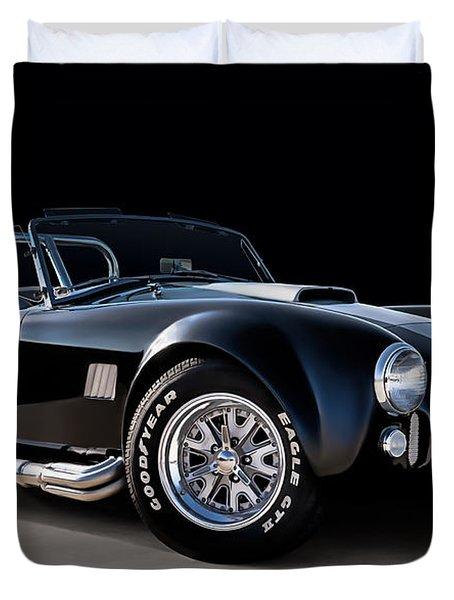 Black Cobra Duvet Cover by Douglas Pittman