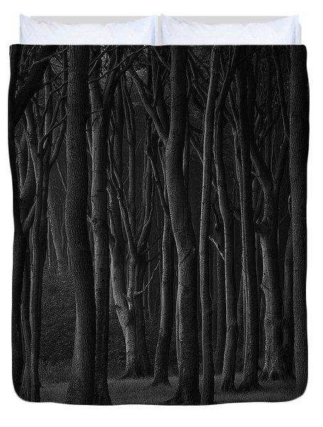 Black Forest Duvet Cover by Heiko Koehrer-Wagner