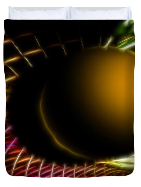 Black Hole Duvet Cover by Cheryl Young