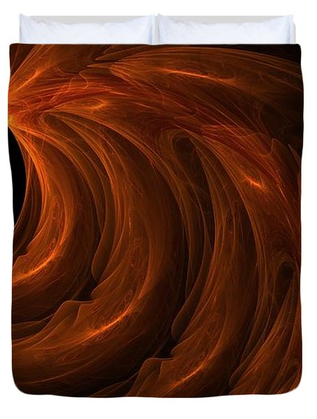 Black Hole Duvet Cover by Lourry Legarde
