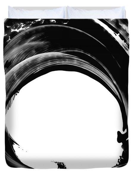 Black Magic 304 by Sharon Cummings Duvet Cover by Sharon Cummings