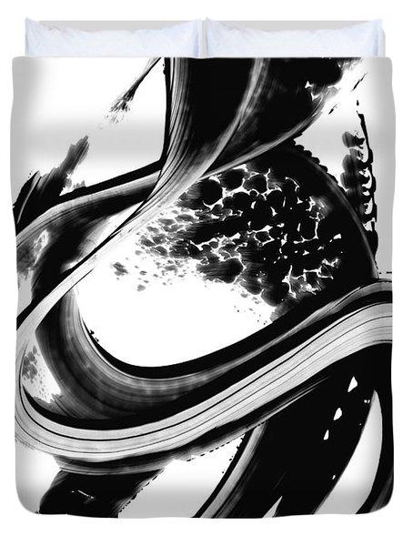 Black Magic 313 By Sharon Cummings Duvet Cover by Sharon Cummings