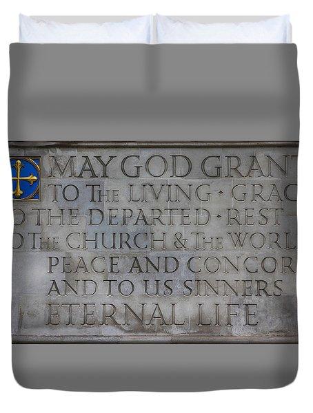 Blessing Duvet Cover by Stephen Stookey