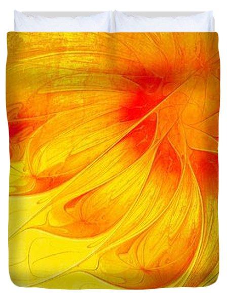 Blooming Spring Duvet Cover by Amanda Moore