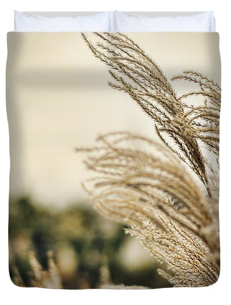 Blowing In The Wind Duvet Cover by Heather Applegate