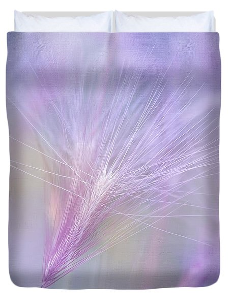 Blowing in the Wind Duvet Cover by Kim Hojnacki