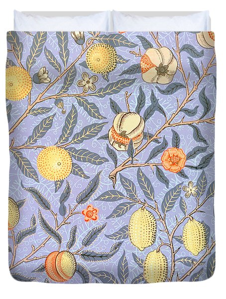 Blue Fruit Duvet Cover by William Morris