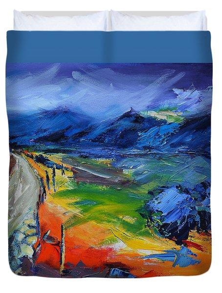 Blue Hills Duvet Cover by Elise Palmigiani