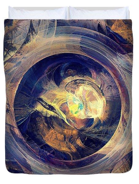 Blue Legend Duvet Cover by Anastasiya Malakhova