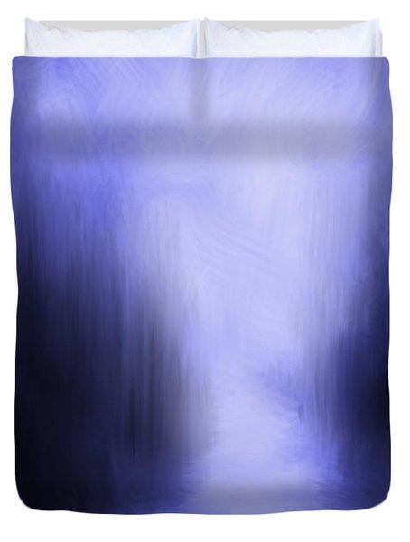 Blue Night Duvet Cover by Kume Bryant