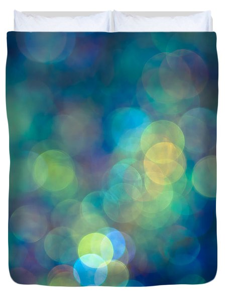 Blue Of The Night Duvet Cover by Jan Bickerton