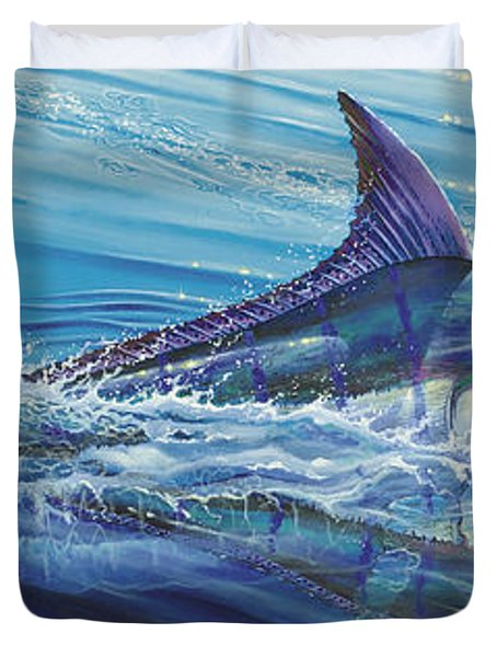 Blue Tranquility Off0051 Duvet Cover by Carey Chen