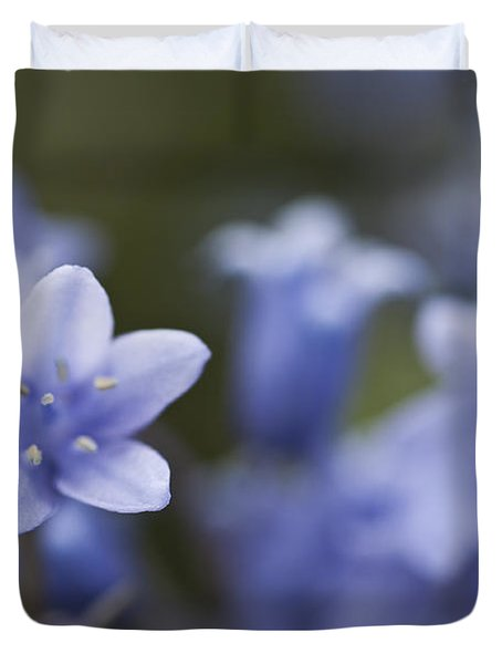 Bluebells 3 Duvet Cover by Steve Purnell