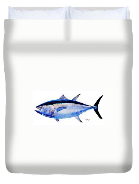 Bluefin Tuna Duvet Cover by Carey Chen