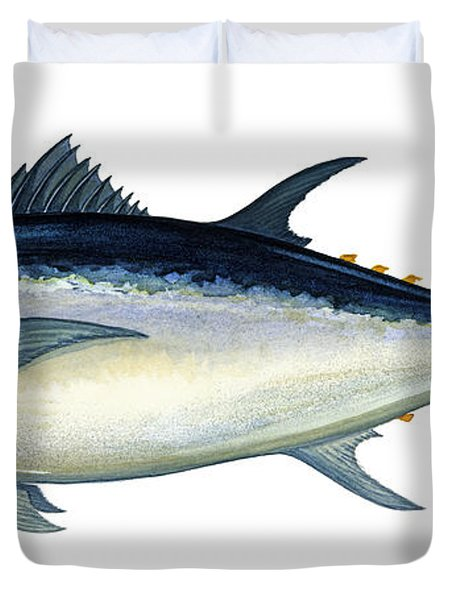 Bluefin Tuna Duvet Cover by Charles Harden