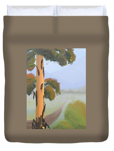 Bluegum Duvet Cover by Leana De Villiers