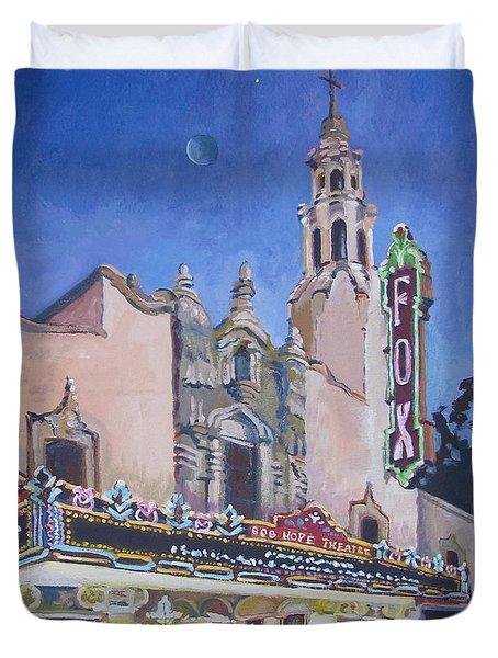 Bob Hope Theatre Duvet Cover by Vanessa Hadady BFA MA