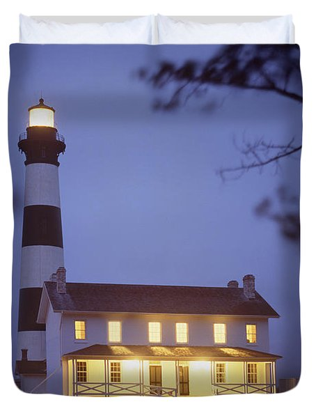 Bodie Light Just After Dark Duvet Cover by Mike McGlothlen