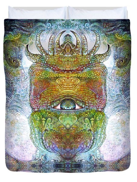 Bogomil Variation 15 Duvet Cover by Otto Rapp