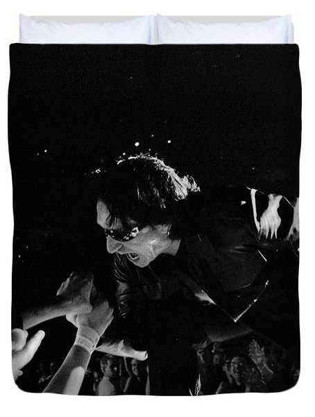 Bono 051 Duvet Cover by Timothy Bischoff