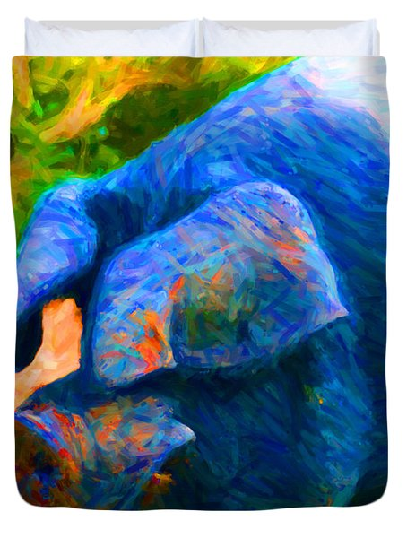 Boss Hog - 2013-0108 Duvet Cover by Wingsdomain Art and Photography