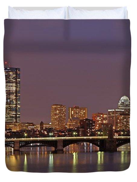 Boston Redline Duvet Cover by Juergen Roth