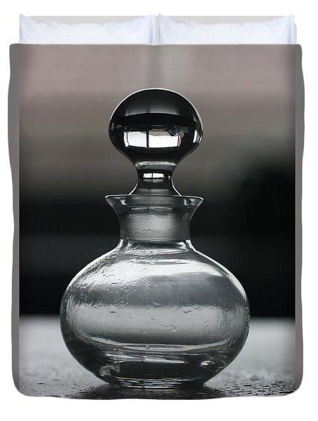 Bottle Duvet Cover by Joy Watson