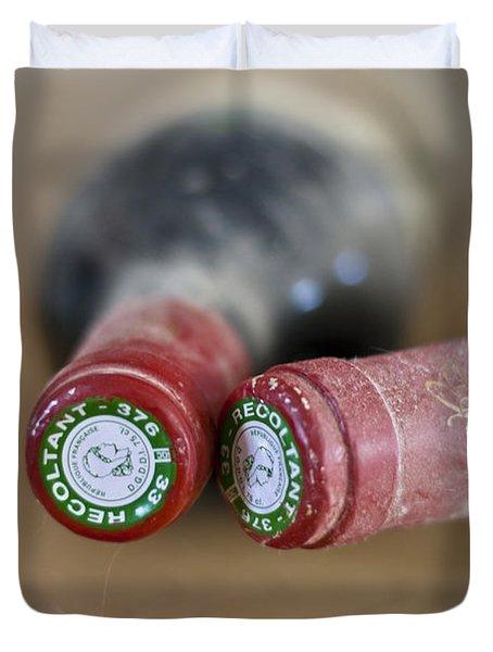 Bottle Necks Duvet Cover by Nomad Art And  Design