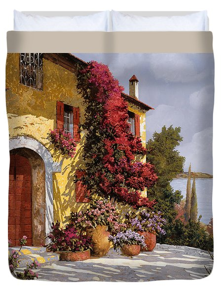 Bouganville Duvet Cover by Guido Borelli