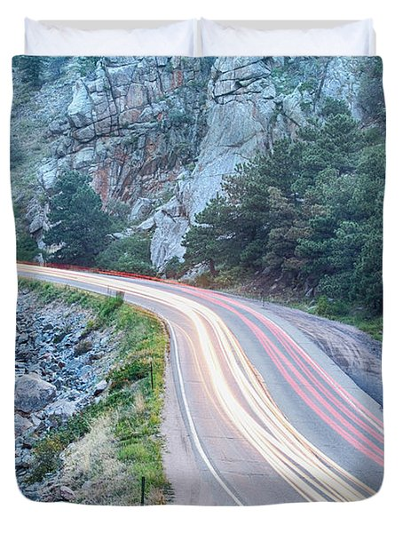 Boulder Canyon Drive And Commute Duvet Cover by James BO  Insogna