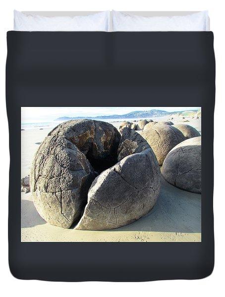 Boulders Duvet Cover by Joyce Woodhouse