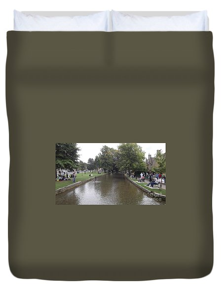 Bourton On The Water Duvet Cover by John Williams