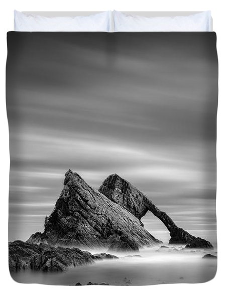 Bow Fiddle Rock 2 Duvet Cover by Dave Bowman