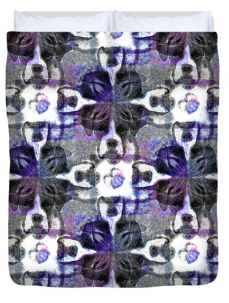 Boxer Abstract 20130126v3 Duvet Cover by Wingsdomain Art and Photography