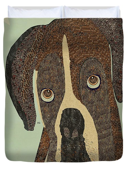 boxer days Duvet Cover by Bri Buckley