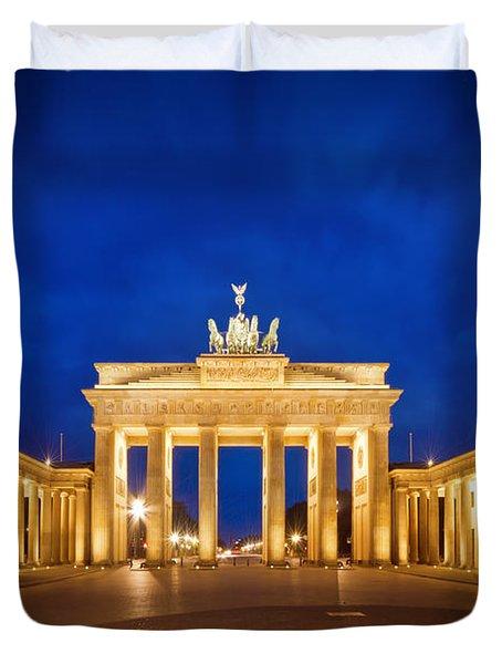 Brandenburg Gate Duvet Cover by Melanie Viola