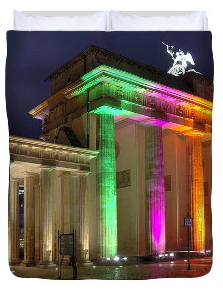 Brandenburger Tor Duvet Cover by Steffen Gierok