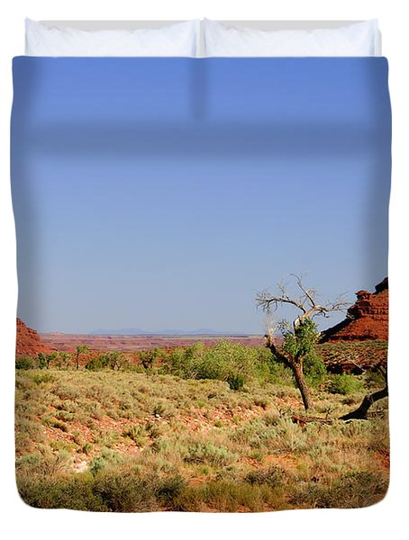 Breathtaking Valley Of The Gods Duvet Cover by Christine Till