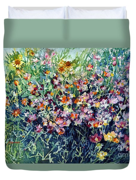 Breeze And Daydream Duvet Cover by Hailey E Herrera