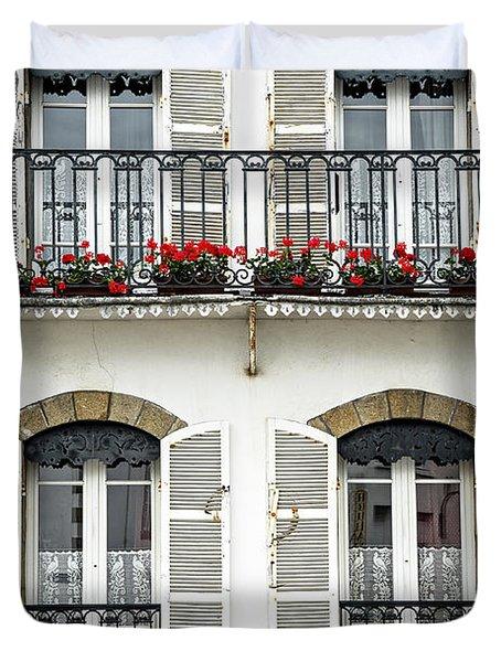 Breton house Duvet Cover by Elena Elisseeva