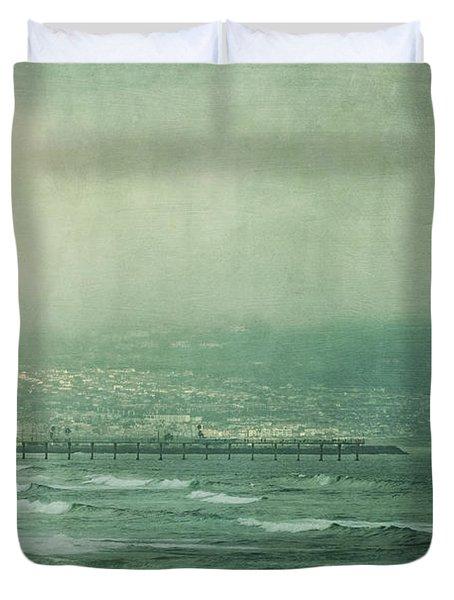 Brewing Storm Duvet Cover by Kim Hojnacki
