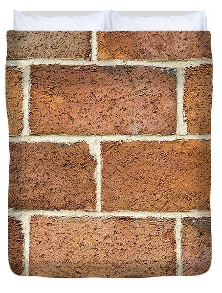 Brick Wall Duvet Cover by Frank Tschakert